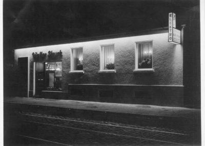 Historisches Foto des Ladengeschäftes